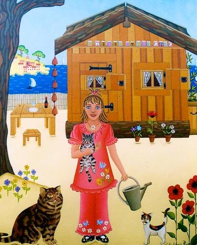 La cabane d'Emilie 41x33cm