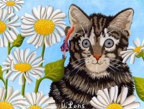 Le chaton 14x18cm