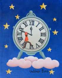 L'horloge de l'Apocalypse 18x14cm 800€