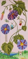 Les fleurs de Redouté 20x40cm